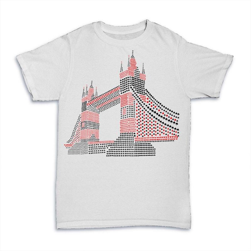 The Bridge. buy t shirt design