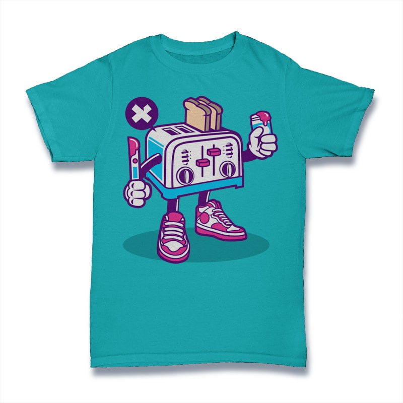 Toaster buy t shirt design