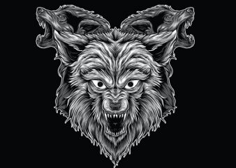 3WOLF buy t shirt design