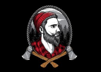 LUMBERJACKZZ t shirt vector graphic