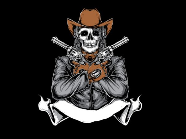 WILDWEST t shirt design for sale