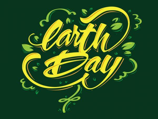 EARTHDAY2 buy t shirt design
