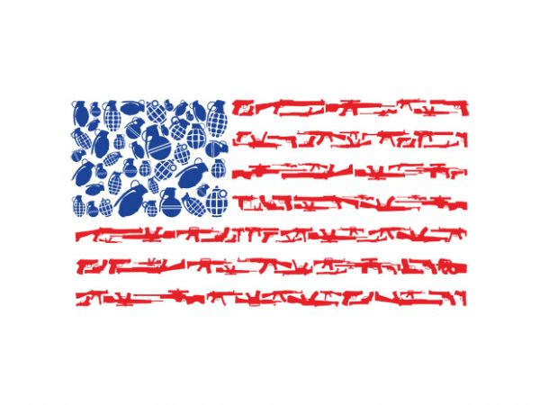 Weapon Flag buy t shirt design
