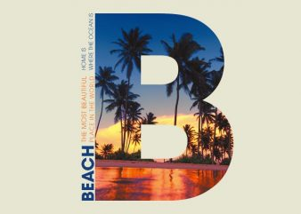B PALM BEACH buy t shirt design