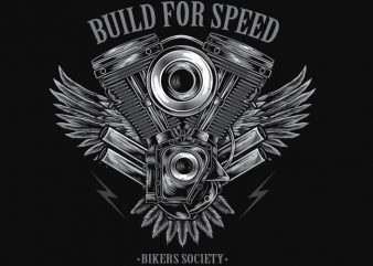 Build For Speed buy t shirt design
