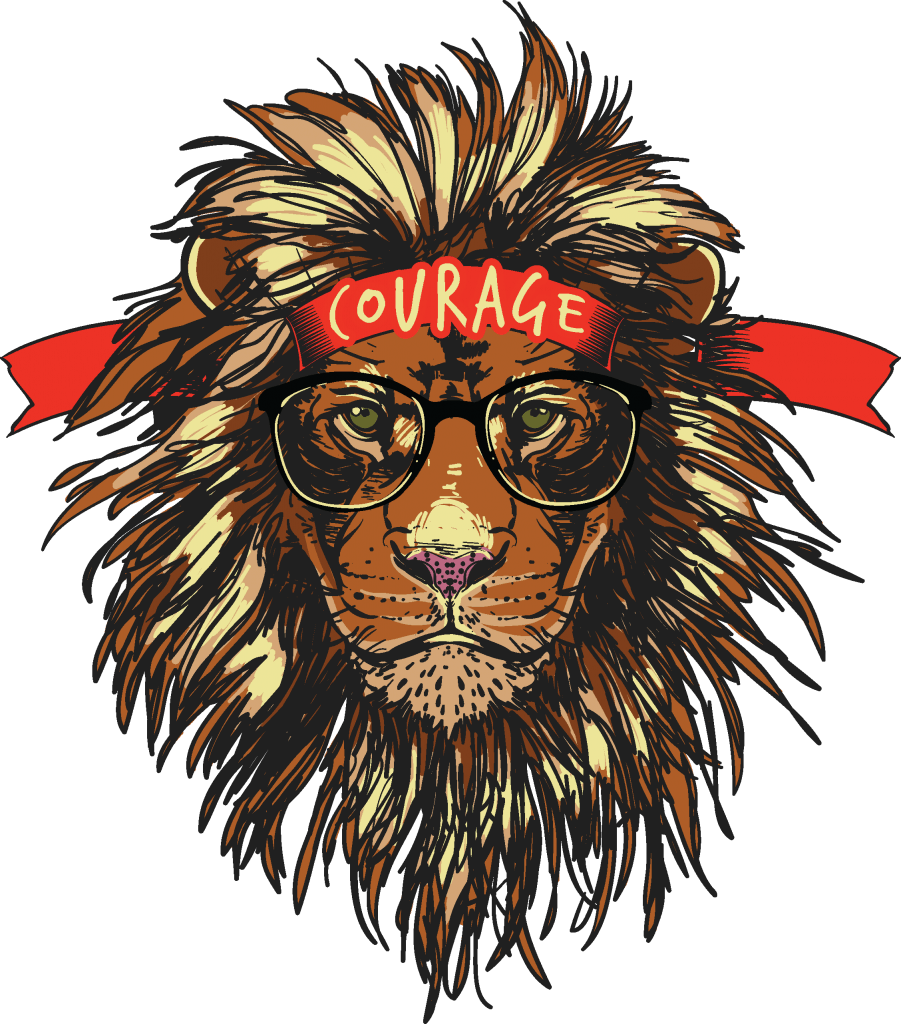 Courage buy t shirt design