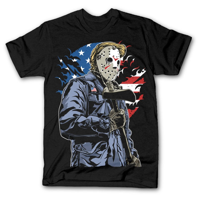 American Killer T shirt design buy t shirt design