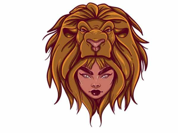 Leo tshirt design 600x450 - Leo buy t shirt design