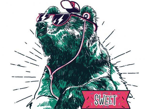 Sweet Summer vector tshirt design 600x450 - Sweet summer buy t shirt design