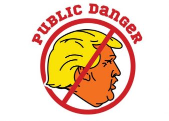 Public danger buy t shirt design