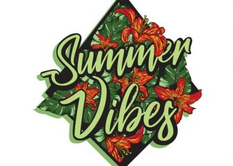 Summer vibes buy t shirt design