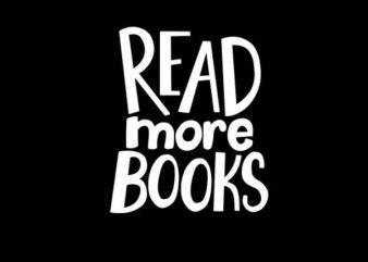 READ MORE BOOKS buy t shirt design