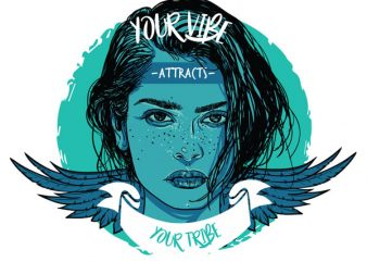 Your vibe attracts your tribe buy t shirt design