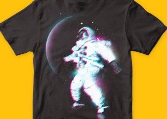 Color Space T-shirt Design