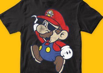 Super pirates t shirt template vector