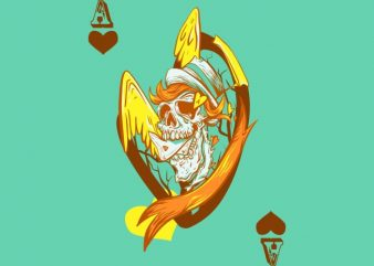 Ace of hearts buy t shirt design
