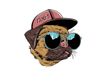 Cool boy t shirt vector file