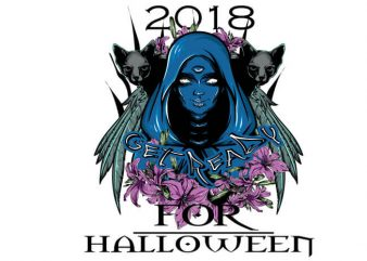 Get ready for halloween buy t shirt design