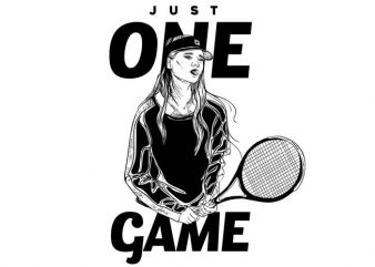 Just one game buy t shirt design