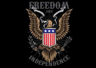 Freedom buy t shirt design