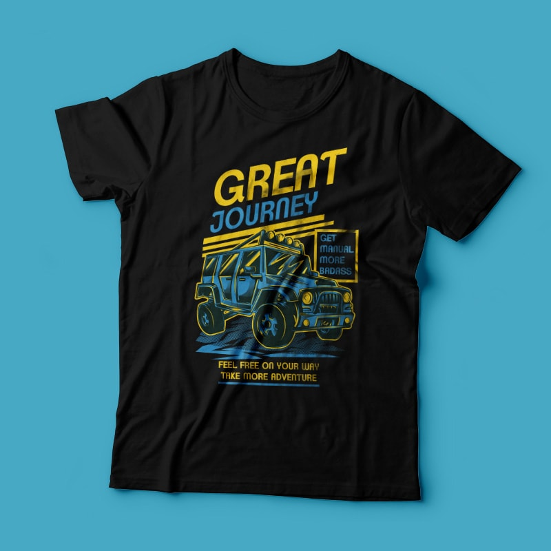 Great Journey buy t shirt design
