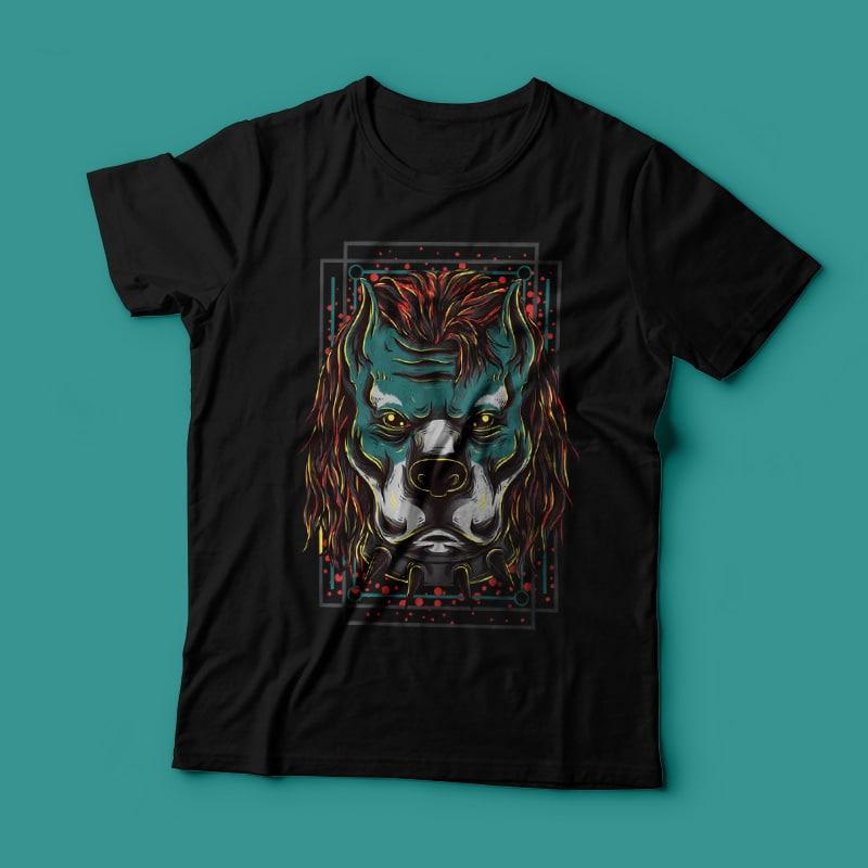 Handsome Pitbull buy t shirt design