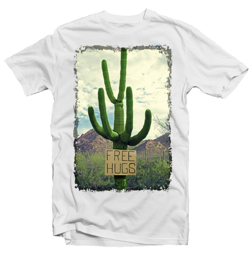 Free Hugs buy t shirt design