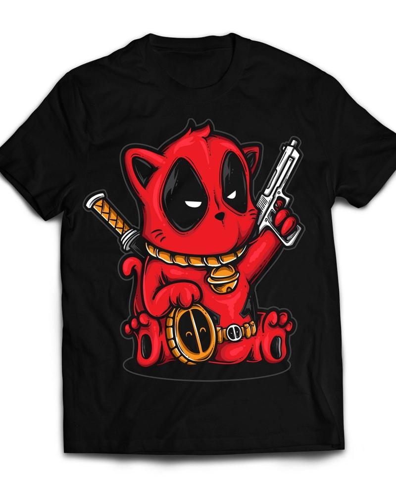 Kittypool buy t shirt design