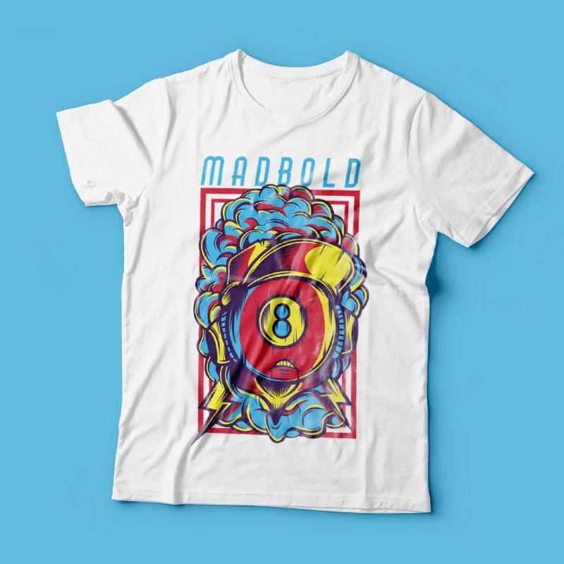 Madbold buy t shirt design
