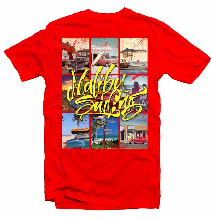 Malibu Surf buy t shirt design