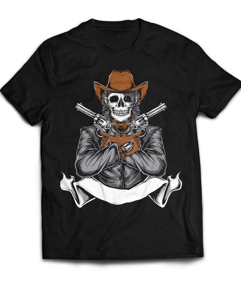 WILDWEST buy t shirt design