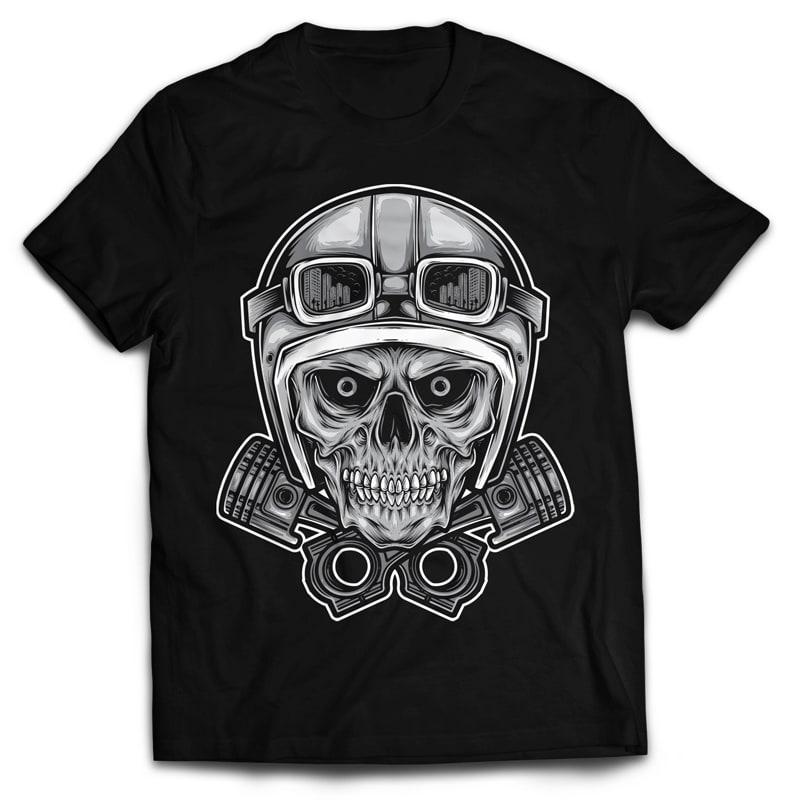 RIDER SKULL buy t shirt design