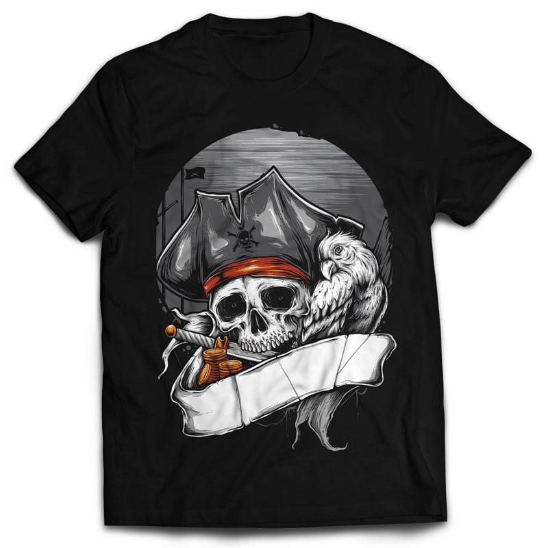 PIRATE buy t shirt design