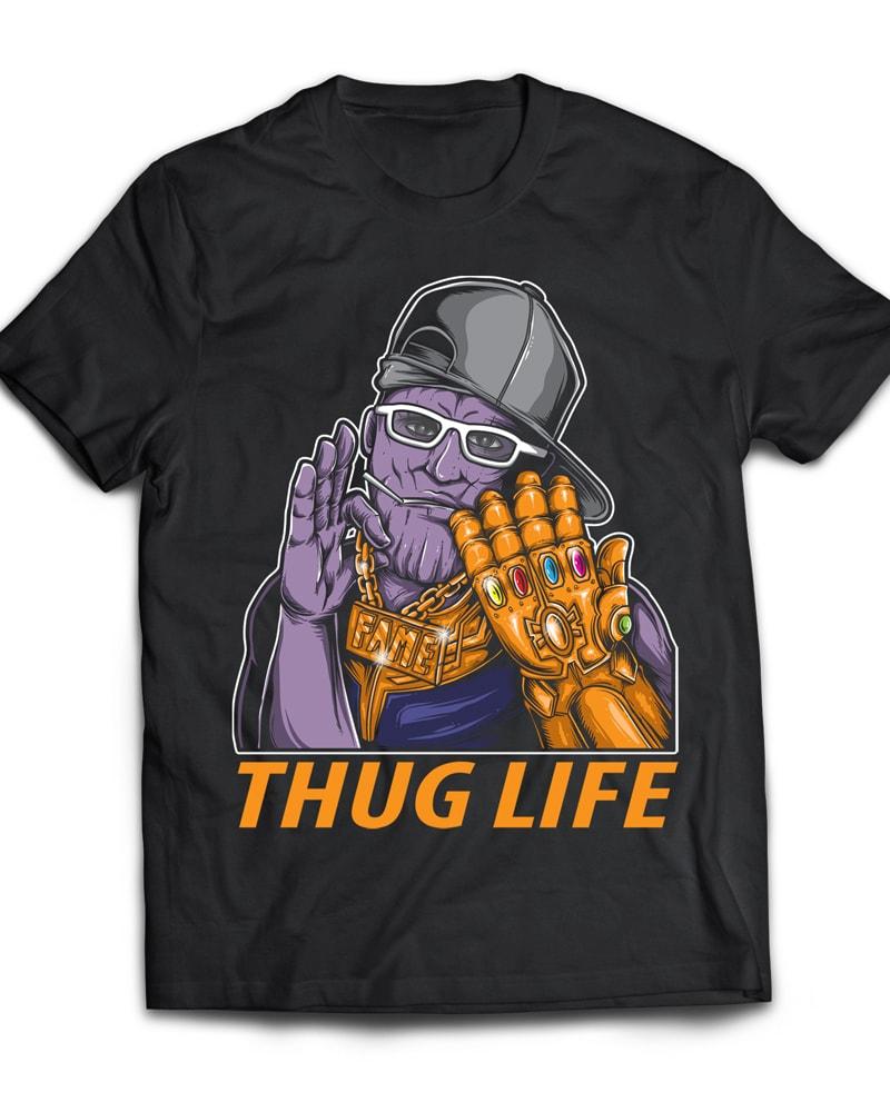 THUG LIFE buy t shirt design
