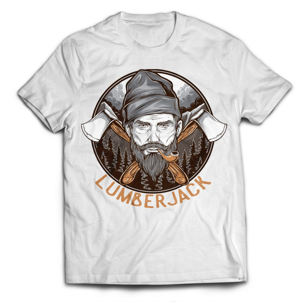 LUMBERJACK buy t shirt design
