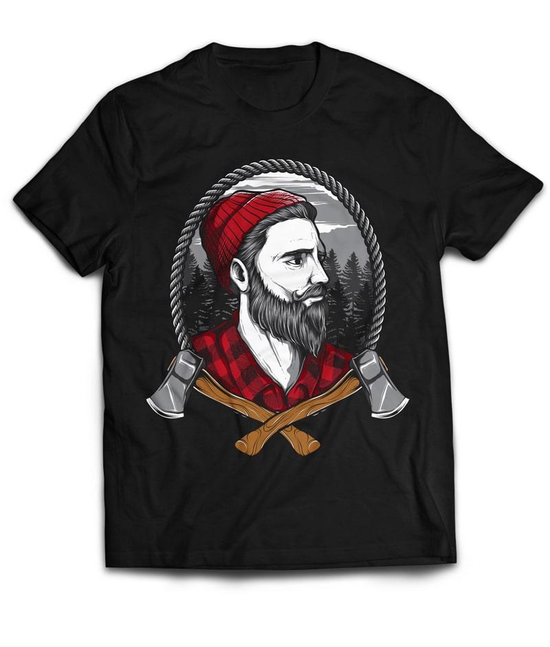 LUMBERJACKZZ buy t shirt design