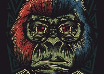 Nerd Monkey buy t shirt design
